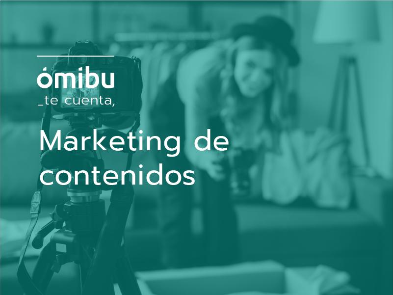 Marketing de contenidos.